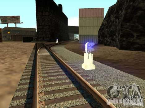 Железнодорожные светофоры 2 для GTA San Andreas второй скриншот