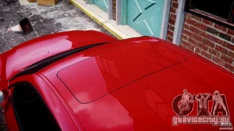 BMW M5 E60 2009 для GTA 4 салон