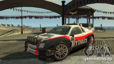 Ford RS200 Evolution Rallycross для GTA 4