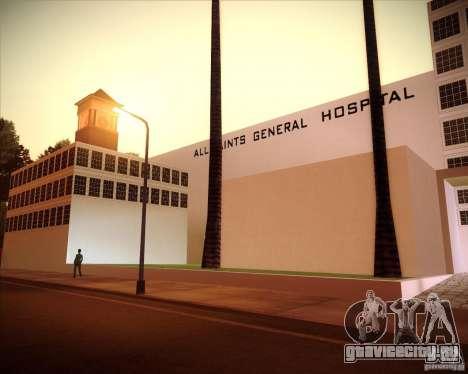 All Saints Hospital для GTA San Andreas третий скриншот