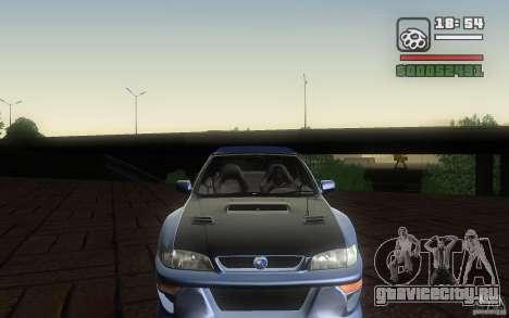 Subaru Impreza 22B для GTA San Andreas вид сзади