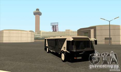 Neoplan Airport bus SA для GTA San Andreas вид сзади