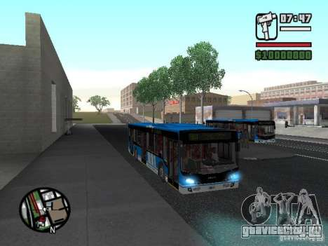 Design-X4-Dreamer для GTA San Andreas вид изнутри