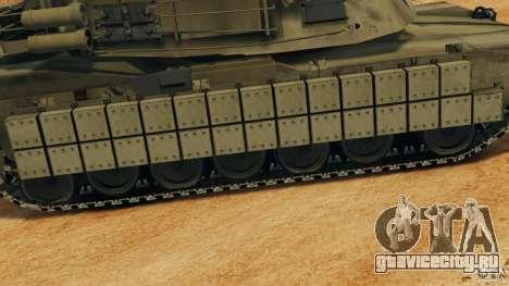 M1A2 Abrams для GTA 4 двигатель