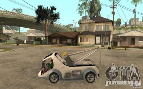 Lil Redd Wrecker для GTA San Andreas вид слева
