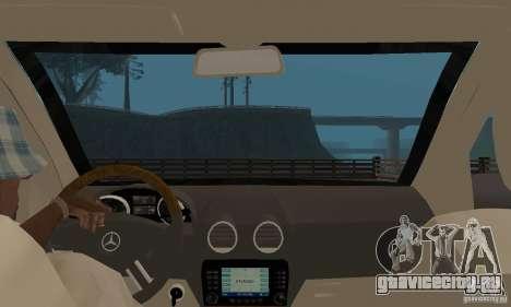 Mercedes-Benz GL500 для GTA San Andreas вид сзади