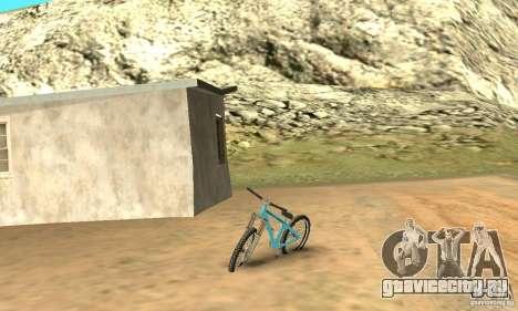 Dirt Jump Bike для GTA San Andreas вид слева
