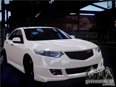 Honda Accord Mugen для GTA 4 вид сбоку