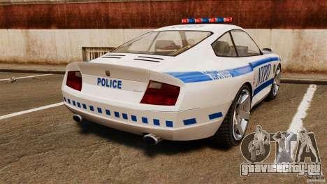 Comet Police для GTA 4 вид сзади слева