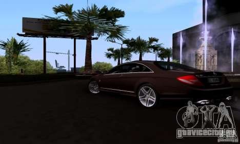 Mercedes-Benz CL65 AMG E.U. для GTA San Andreas вид слева