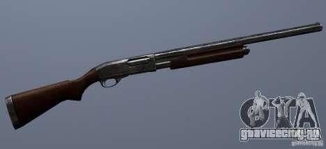 Remington 870AE Silver для GTA San Andreas четвёртый скриншот