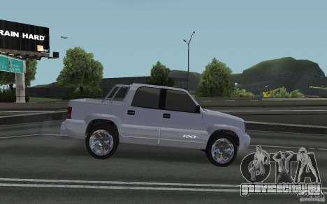 Cavalcade FXT из GTA 4 для GTA San Andreas вид сзади слева