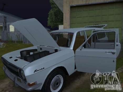 ГАЗ 24-02 для GTA San Andreas вид сзади слева