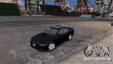Toyota Mark II 2.5 для GTA 4 вид снизу
