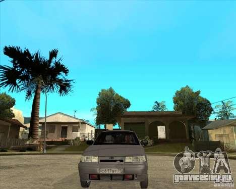 ВАЗ 2111 для GTA San Andreas вид сзади