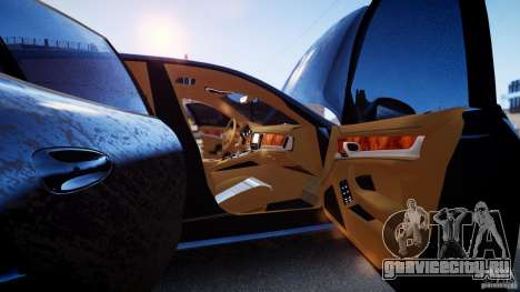 Porsche Panamera Turbo 2010 Black Edition для GTA 4 вид сбоку