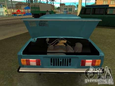 ЗАЗ 968М для GTA San Andreas вид сзади