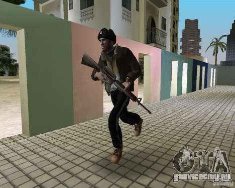 Нико Беллик в Ушанке для GTA Vice City