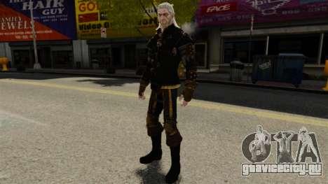Геральт из Ривии v1 для GTA 4 четвёртый скриншот
