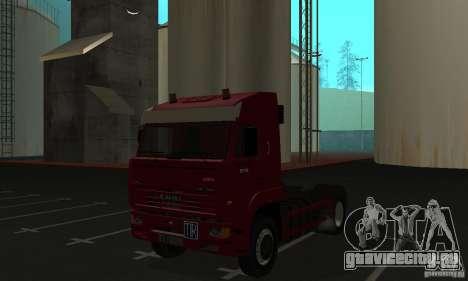 КамАЗ 5460 Skin 1 для GTA San Andreas вид слева