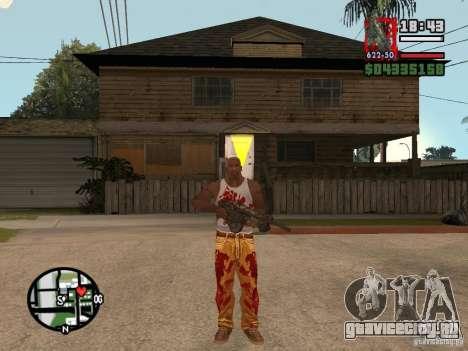BulletStorm M4 для GTA San Andreas второй скриншот