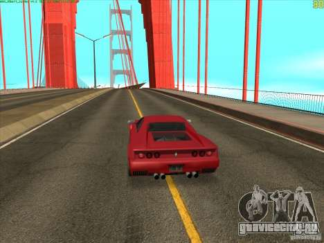 Такомский Мост (Tacoma Narrows Bridge) для GTA San Andreas третий скриншот