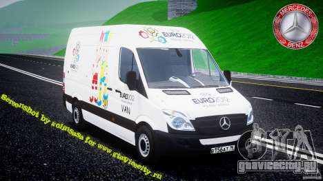 Mercedes-Benz Sprinter Euro 2012 для GTA 4