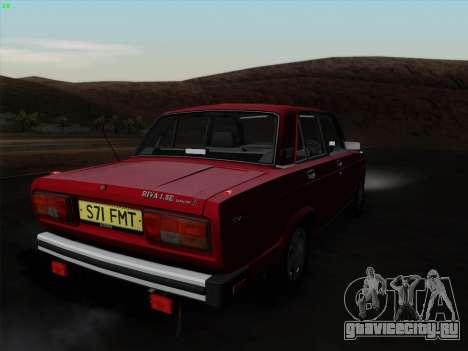 Lada 2105 RIVA (Экспортная) 2.0 для GTA San Andreas вид слева