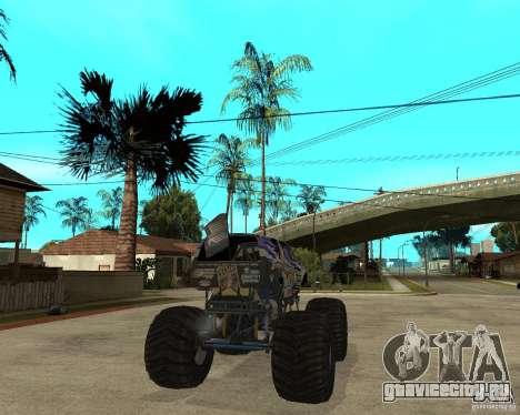 Bounty Hunter для GTA San Andreas вид сзади слева