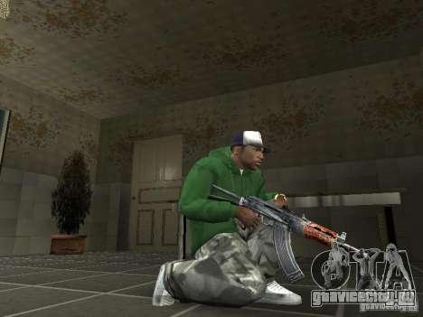 Пак Отечественного Оружия V2 для GTA San Andreas четвёртый скриншот