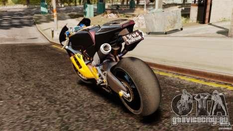 Ducati Desmosedici RR 2012 для GTA 4 вид сзади слева