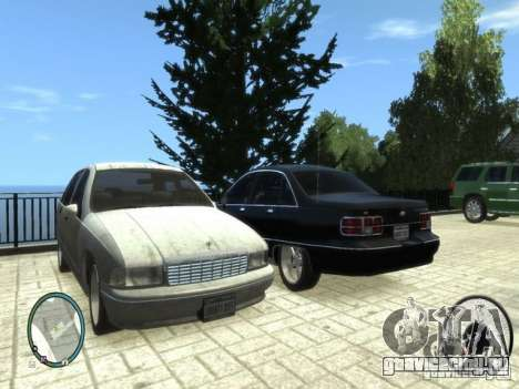 Chevrolet Caprice для GTA 4 вид слева