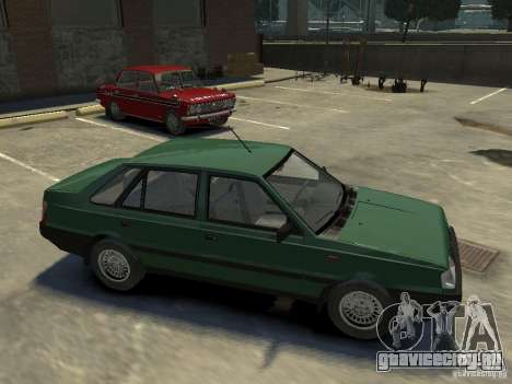 FSO Polonez для GTA 4 вид снизу