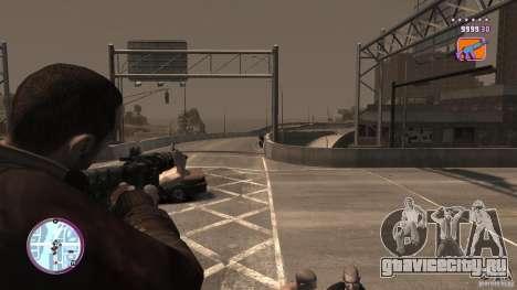 VC Style Radar/HUD (скин 2) для GTA 4 шестой скриншот