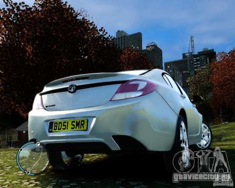 Vauxhall Insignia v1.0 для GTA 4 вид сбоку
