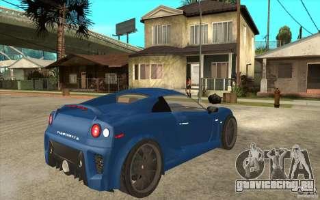 Mastretta MXT v1.1 для GTA San Andreas вид справа