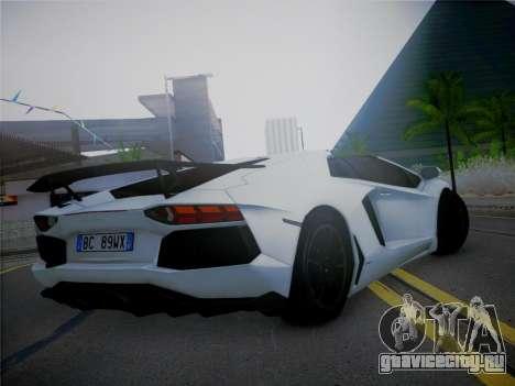 Lamborghini Aventador LP700-4 Roadstar для GTA San Andreas вид слева