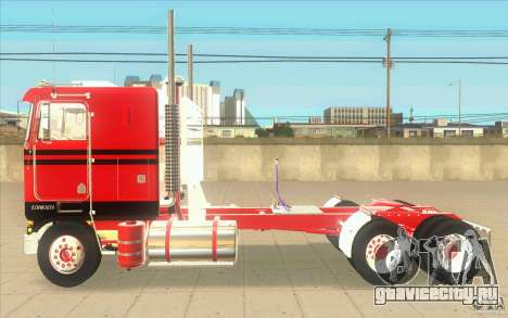 Kenworth K100 Extended Wheel Base для GTA San Andreas вид слева