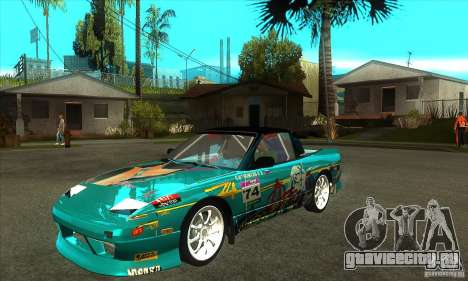 Nissan 200sx from Moscow Drift для GTA San Andreas