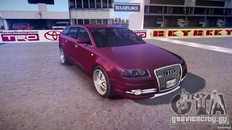 Audi A6 Allroad Quattro 2007 wheel 1 для GTA 4 вид сбоку