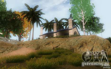 New Country Villa для GTA San Andreas седьмой скриншот
