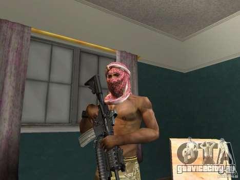 Головные уборы Call of Duty 4: Modern Warfare для GTA San Andreas пятый скриншот