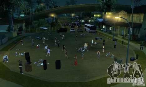 Проект Х на Grove Street для GTA San Andreas пятый скриншот