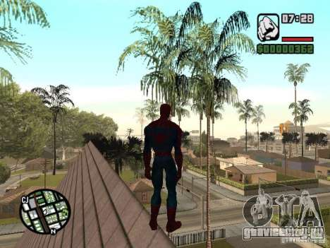 Spider Man From Movie для GTA San Andreas седьмой скриншот