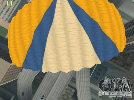 Парашют из TBOGT v2 для GTA San Andreas шестой скриншот