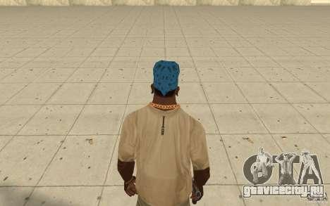 Бандана maryshuana blue для GTA San Andreas третий скриншот