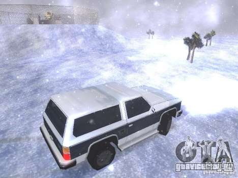 Snow MOD HQ V2.0 для GTA San Andreas девятый скриншот