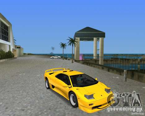 Lamborghini Diablo SV для GTA Vice City