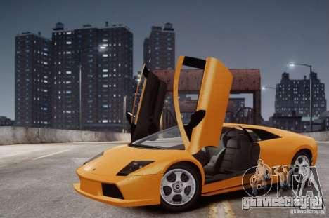 Lamborghini Murcielago для GTA 4 вид изнутри