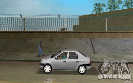 Dacia Logan 1.6 MPI для GTA Vice City
